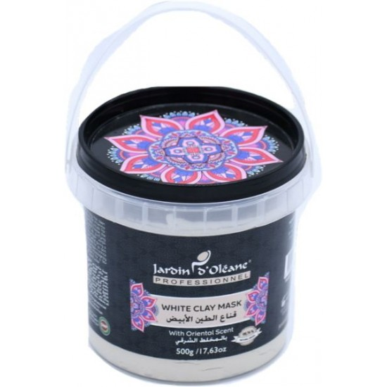 Jardin Oleane Maroccan White clay Mask With Oriental Scent - 500 gm