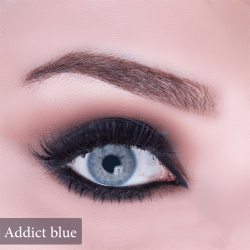 Anesthesia Coloured Lenses - Addict Blue