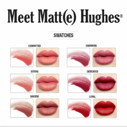 theBalm Meet Matte Hughes Set of 6 Mini Lipsticks 9G251